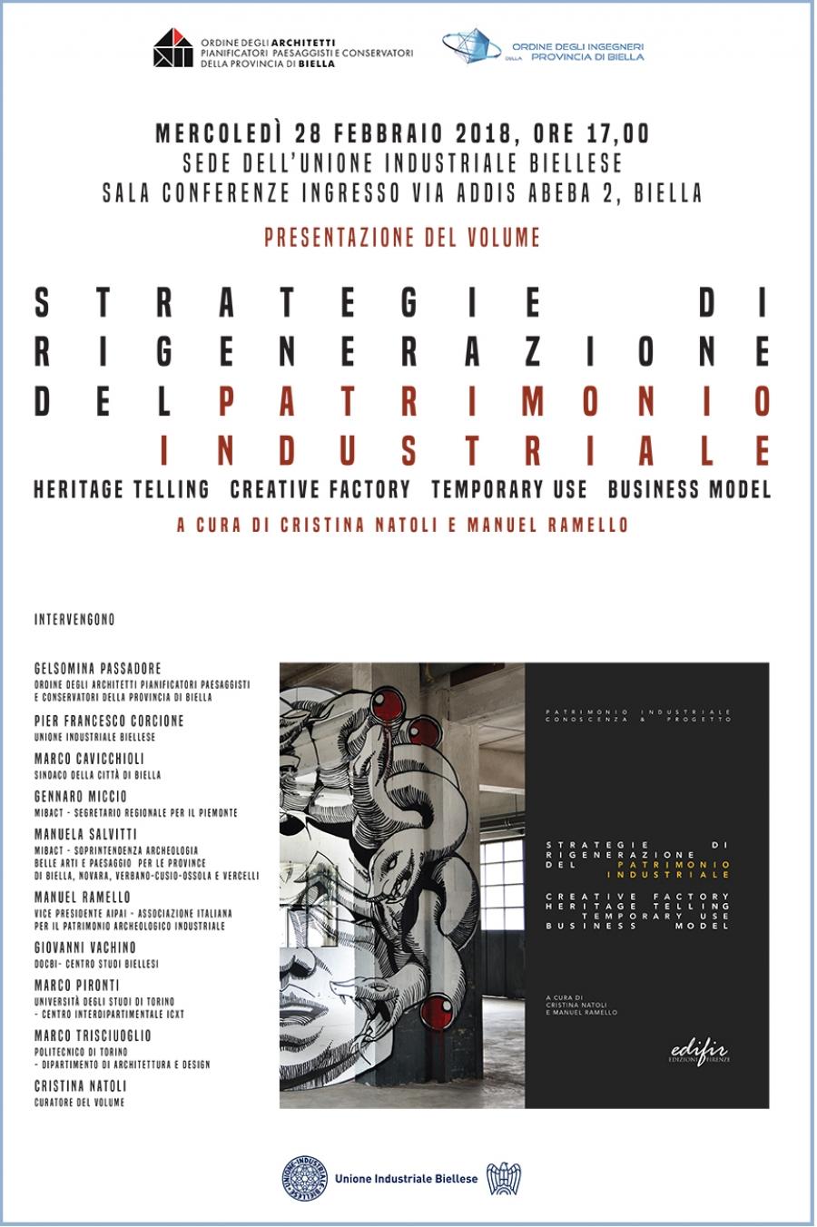 Presentazione Del Volume Strategie Di Rigenerazione Del Patrimonio
